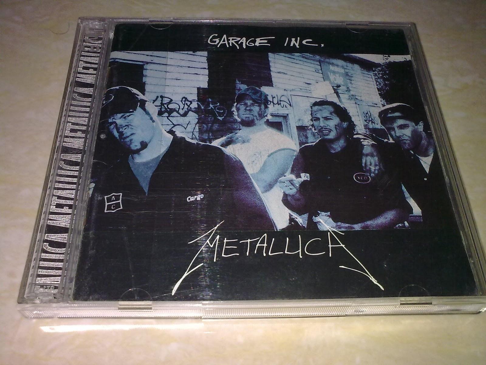 Metallica Garage Inc Cd