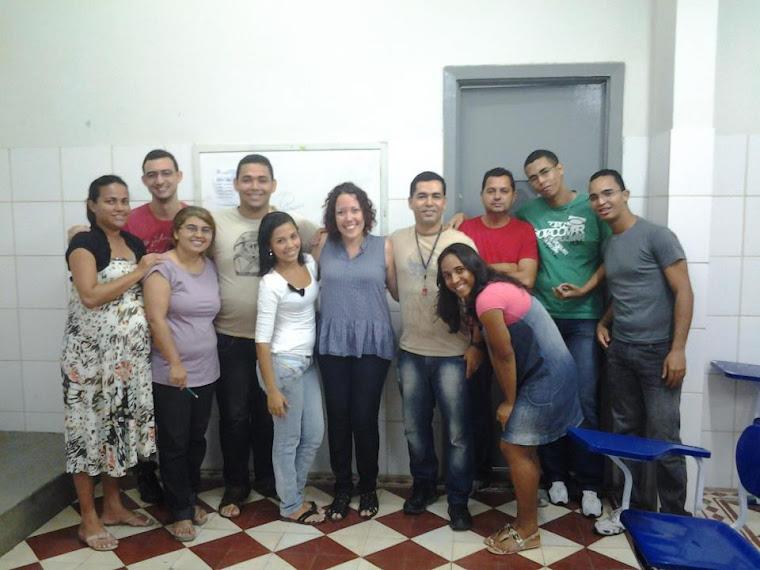 Alunos do 5º Período do Curso de Letras Da Faculdade São MIguel