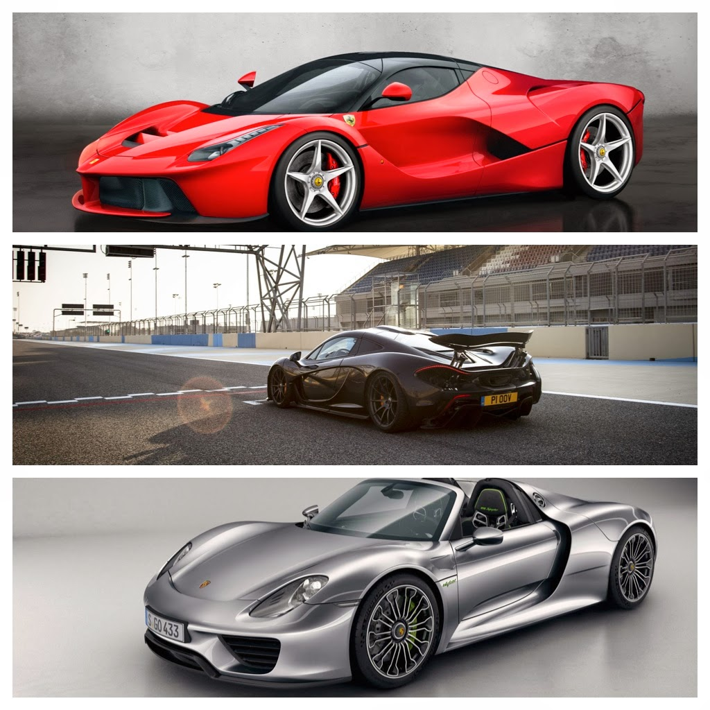 mclaren p1 vs ferrari laferrari vs porsche 918 spyder specs cars li. Black Bedroom Furniture Sets. Home Design Ideas