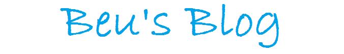 Beu's Blog