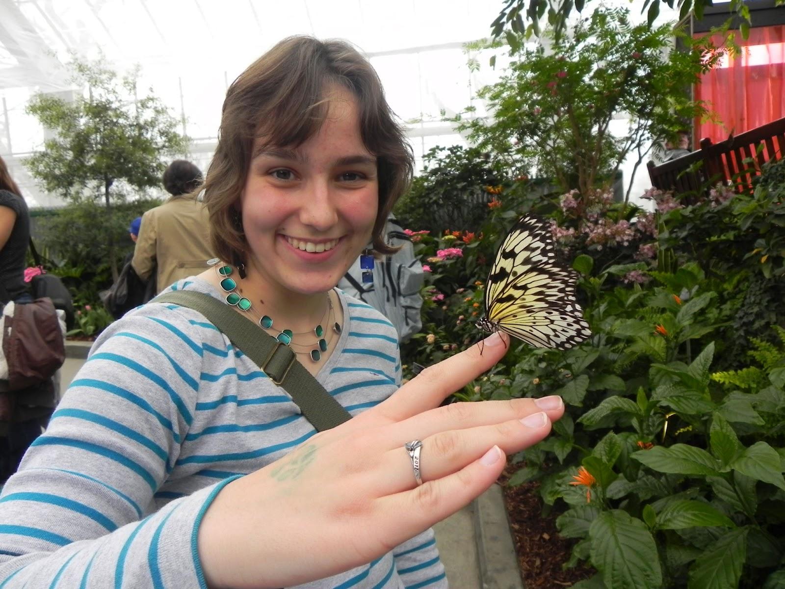 Journal d 39 une jeune adulte jardin botanique avec ariane for Papillons jardin botanique 2016