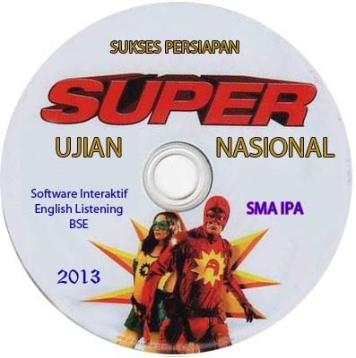 Cd Super Sukses Persiapan Un 2013 Soal Prediksi Un 2013