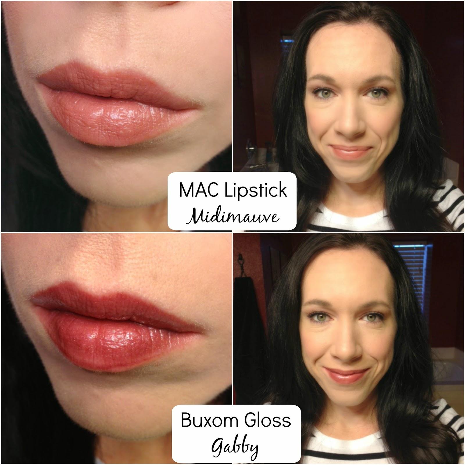 MAC lipstick Buxom Lip Polish