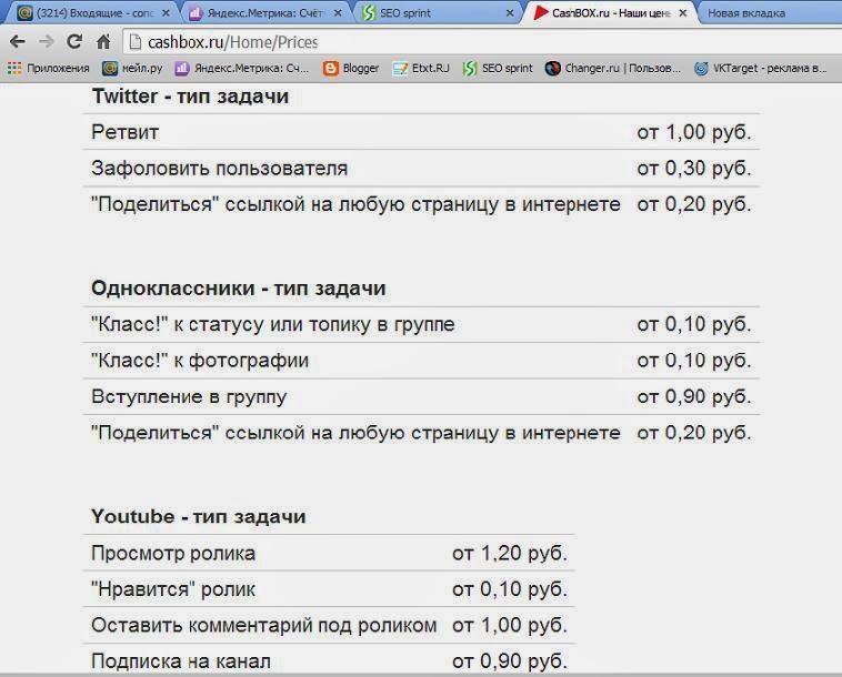 биржа cashbox.ru