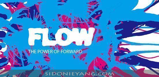 2012台灣設計師週的主題定為《FLOW》,象徵台灣設計師們充滿對未來發展無限可能與新機會的渴求,靈感湧出、創意川流不息的動力 (The Power of Forward)。圖片來源: http://www.designersweek.tw/index.html