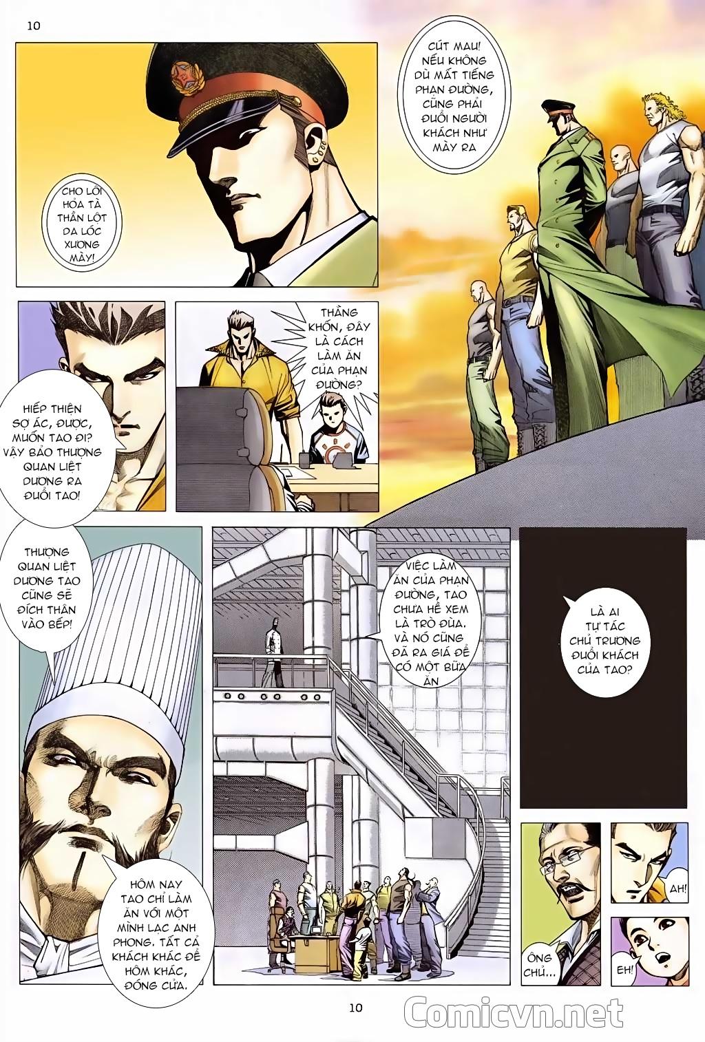 Xích Trụ Phạn Đường chap 5 - Trang 10
