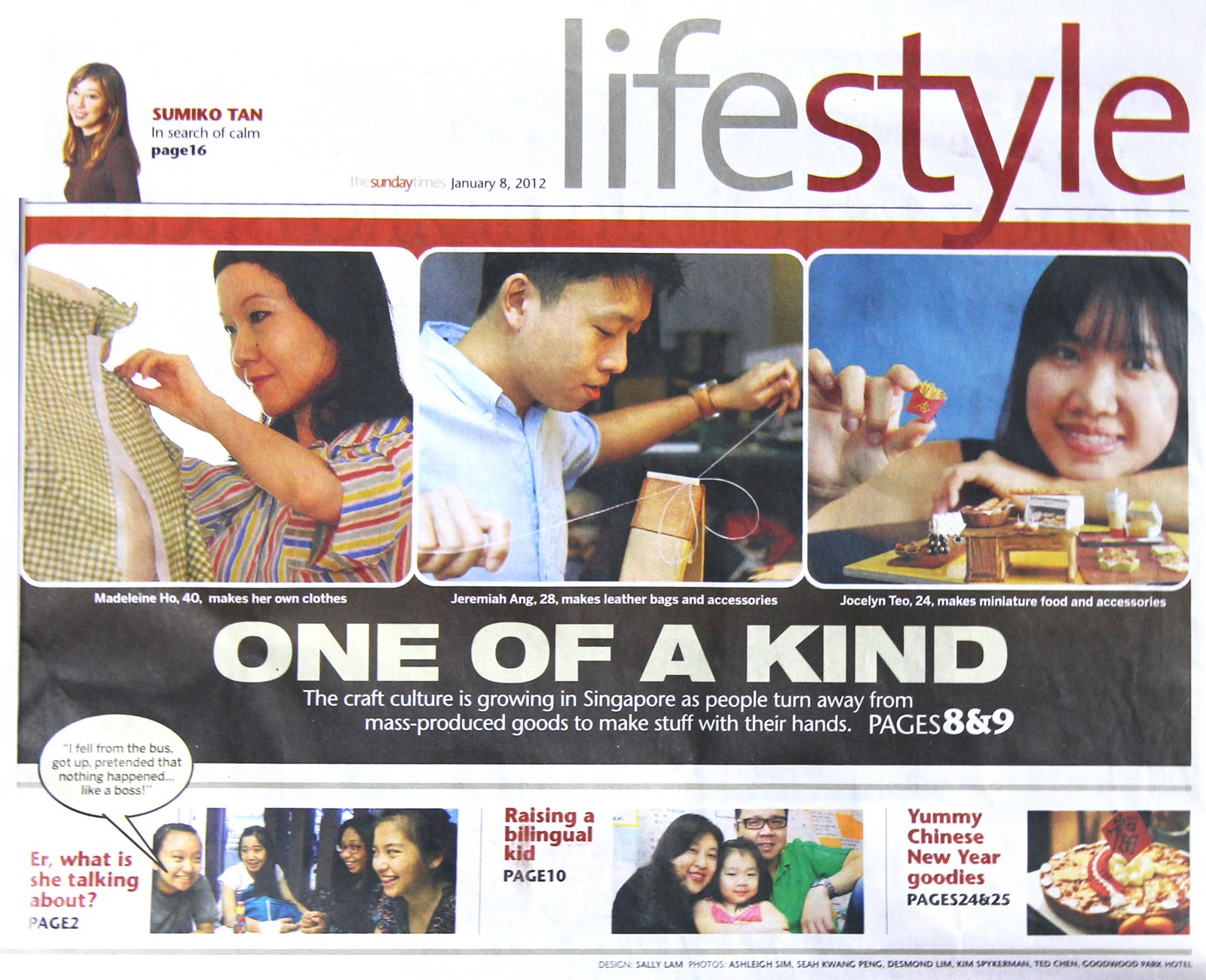 AiClay - the {really} small things in life: The Straits Times ...