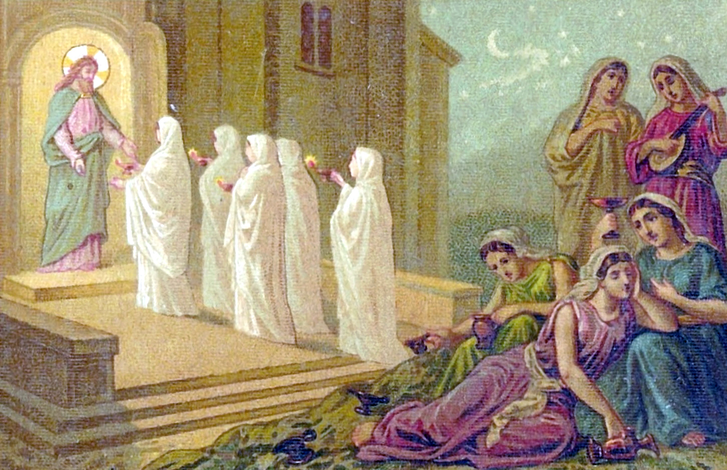 Parable of the Ten Virgins - Wikipedia