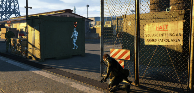 Metal Gear Solid 5 Ground Zeroes Footage