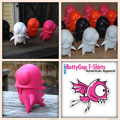Designer Con 2012 Exclusive Mini GibbyGops Resin Figures by Jester