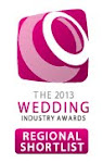 2013 Wedding Industry Awards Regional Shortlist