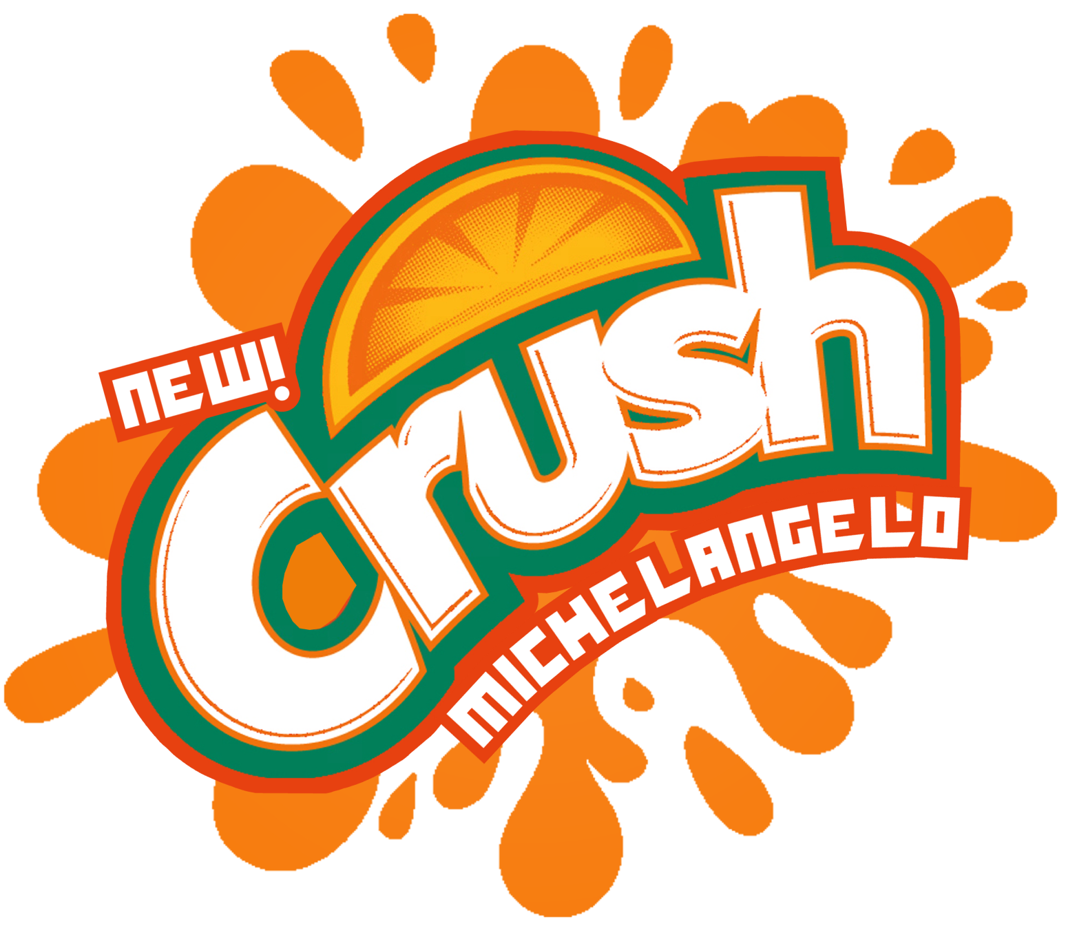 the holidaze tmnt crush michelangelo orange rh the holidaze blogspot com crush logo png crush logo design