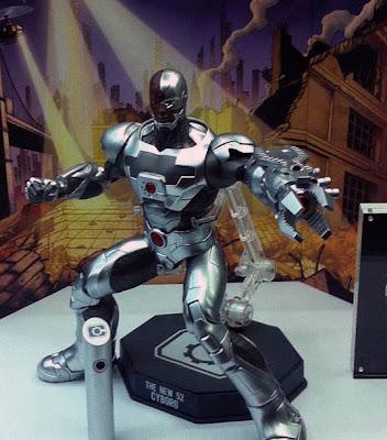 Play Imaginative Super Alloy DC Comics New 52 1/6 Scale Cyborg Figure