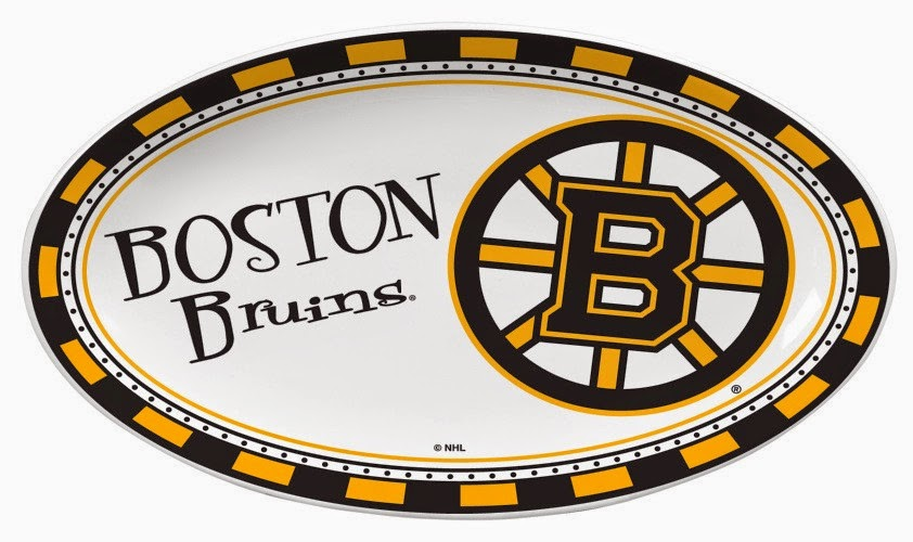 Boston Bruins NHL Ceramic Platter