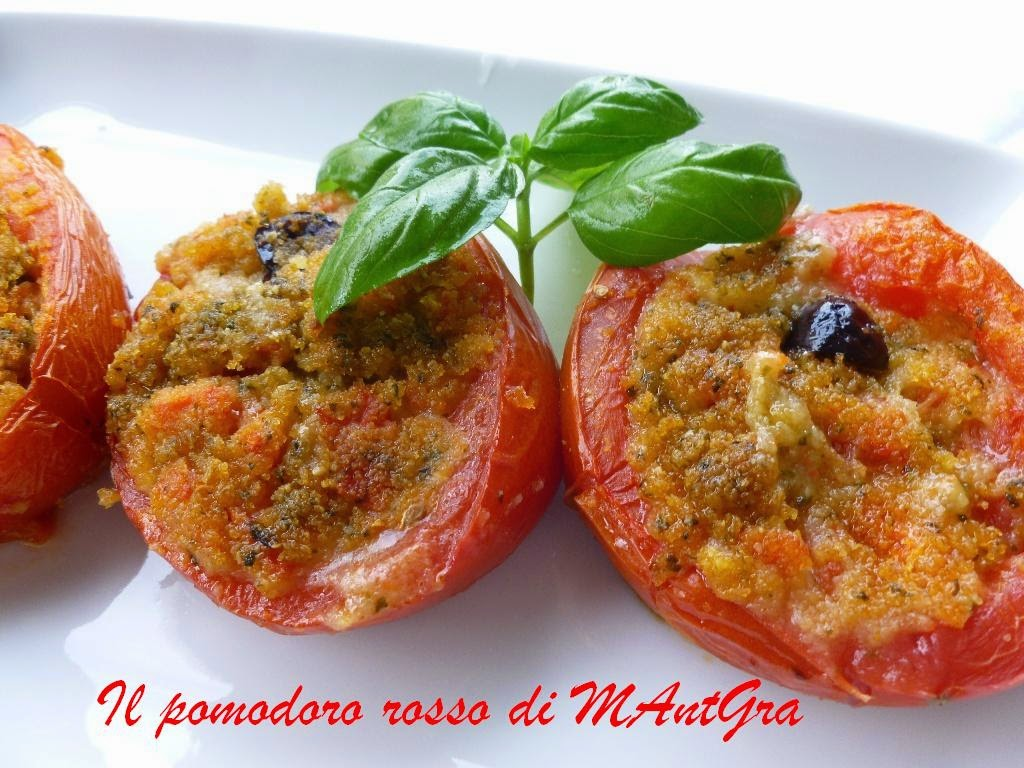 pomodori ripieni al pesto