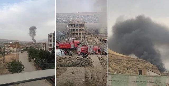 Ισχυρή έκρηξη στη νοτιοανατολική Τουρκία -Τουλάχιστον 11 νεκροί και 70 τραυματίες