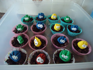 The Club Penguin Nest Cakes with Puffles