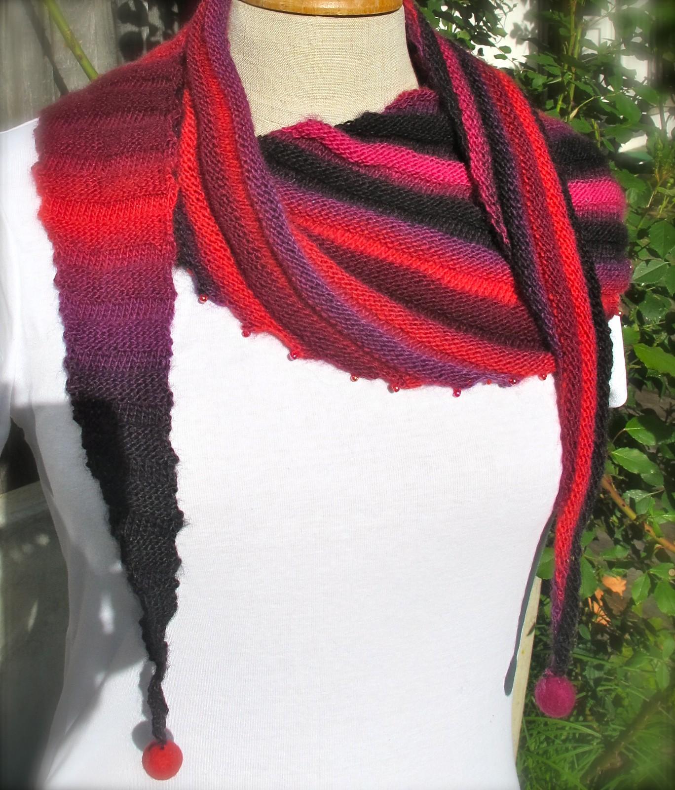шарф-бактус схема