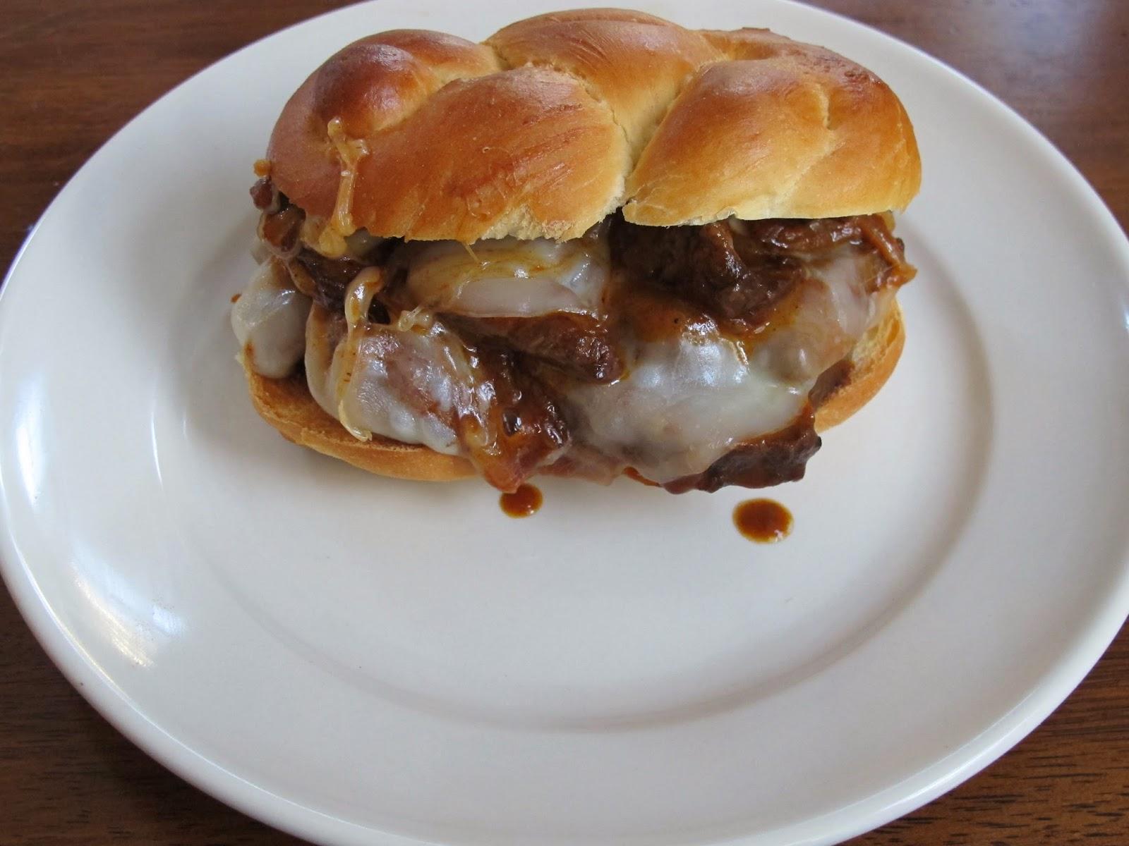BBQ Tri Tip Beef Sandwiches