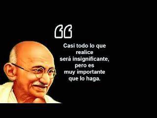Frases Famosas de Gandhi, parte 1