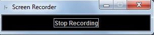 screen recording stop record task