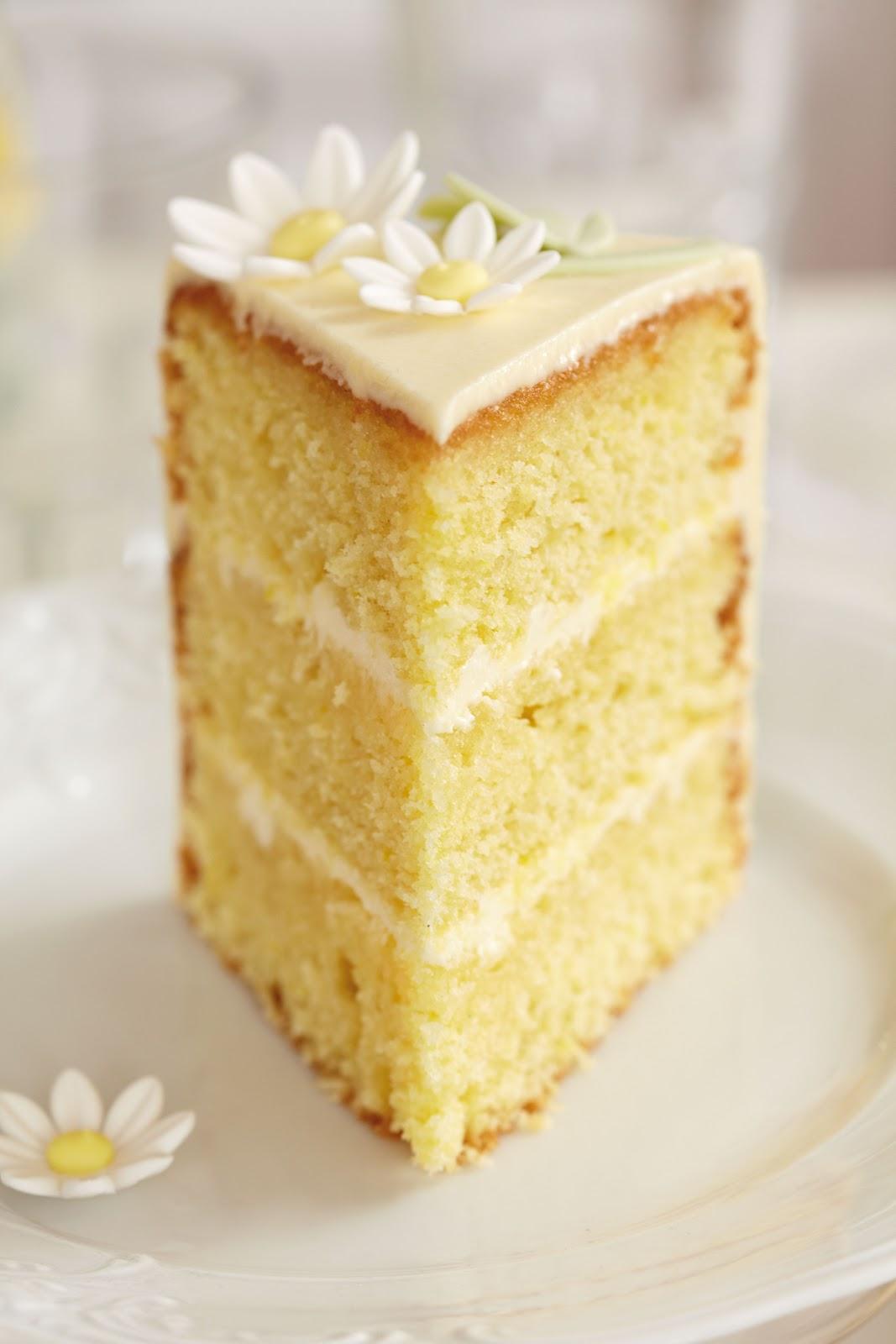 Lemon Madeira Cake For Birthday Cake