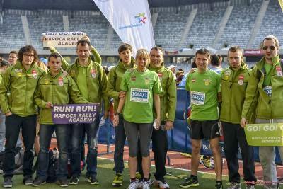 Napoca Rally Academy la maraton