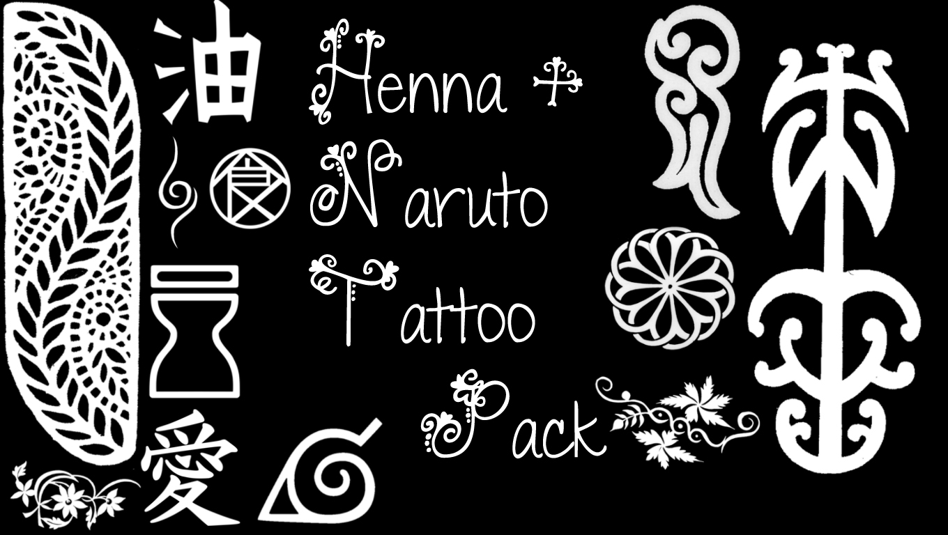 McCall39s Creation Henna Naruto Tattoo Pack