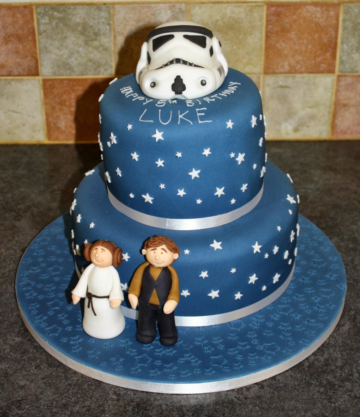 Tallulahs Bakery Star Wars Themed 5th Birthday Cake