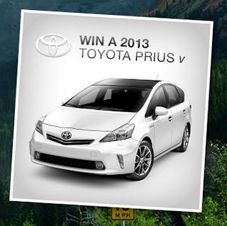 Win 1 2013 Toyota Prius