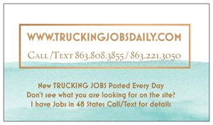Trucking Jobs Anywhere