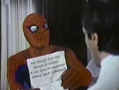 Spiderman (El hombre araña), Nicholas Hammond