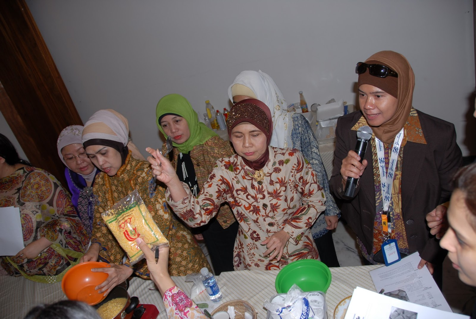 Indonesia Ladies berkesempatan menjadi host dalam acara Cooking Class