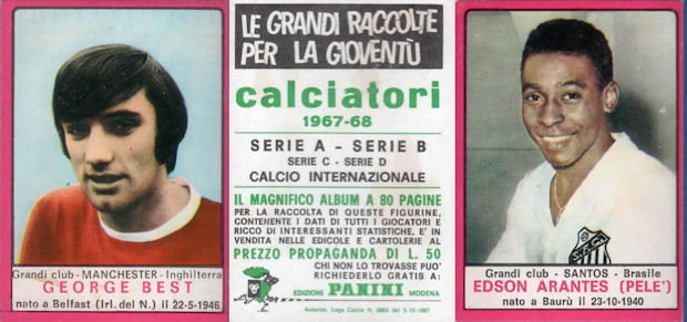 CALCIATORI PANINI 1968-69 GERMANO-LUGARA TERNANA Rec Figurina-Sticker