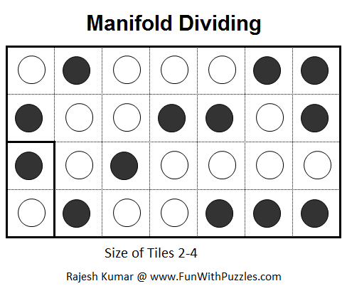 Manifold Dividing  (Mini Puzzles Series #6)