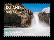 Iceland: Tourist stamps II - Aldeyjarfoss