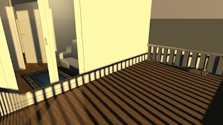 Balkon yang luas