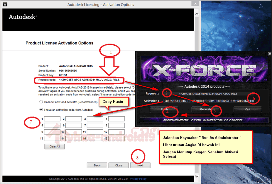 x-force autodesk 2016 64 bit