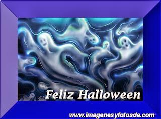 Feliz Halloween con Fantasmas