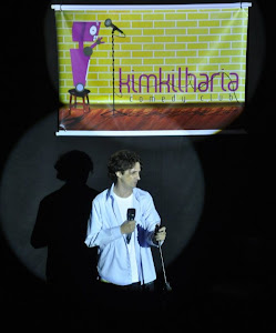 No Palco do Kimkilharia Comedy Club em Maringá - Pr