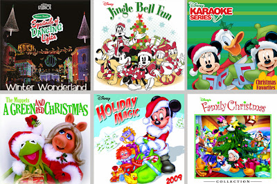 Disney Christmas music iTunes Amazon download playlist