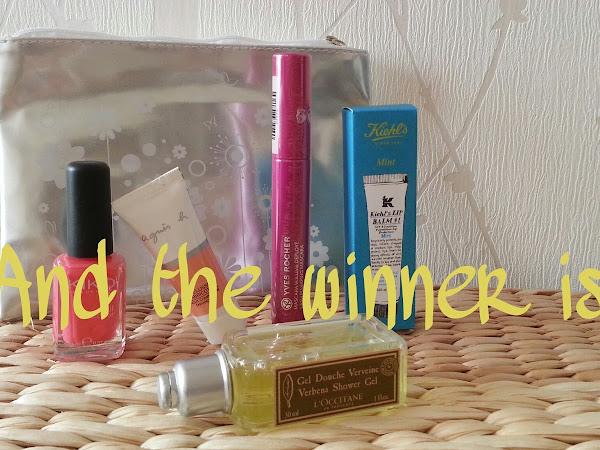 Concours du blog : et la gagnante est...