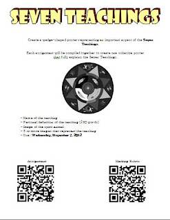 seven teachings classroom resources, the seven teachings, traditional seven teachings, the seven grandfathers