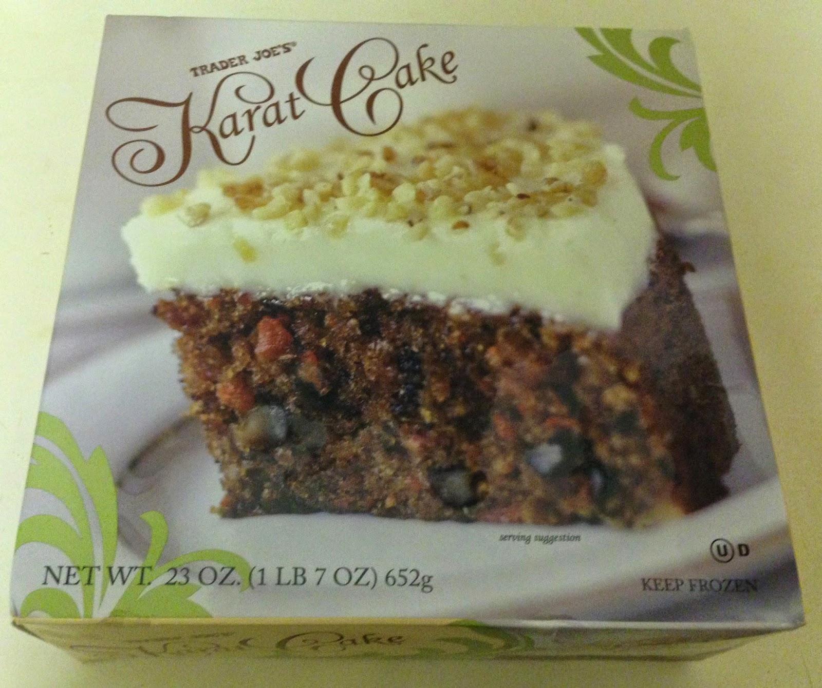 Karat Cake Trader Joe S