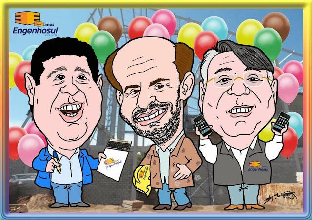 Peça sua caricatura pelo e-mail m2lopes@hotmail.com