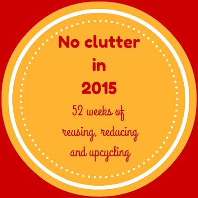 decluttering, no clutter in 2015