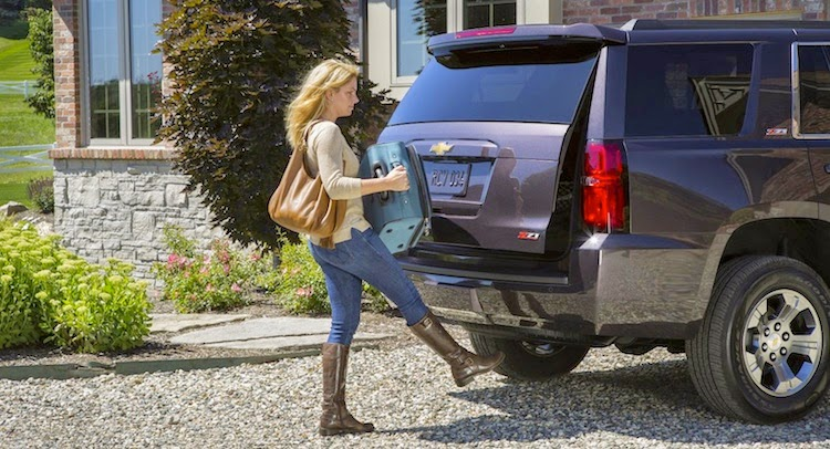 road oriented Z71 package to the redesigned 2015 Tahoe and Suburban