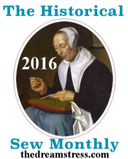 Historical Sew Monthly 2016