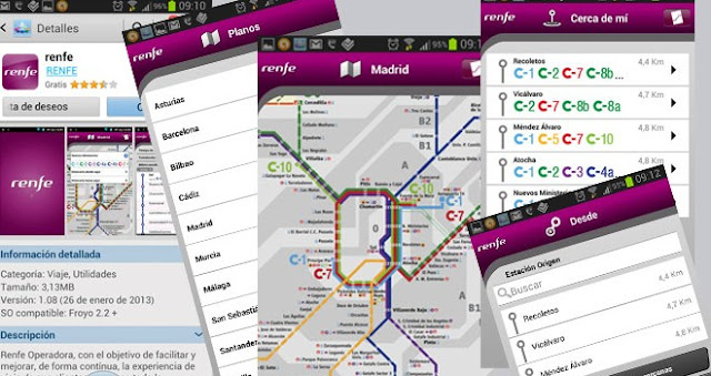 Renfe ya cuenta con app para Android