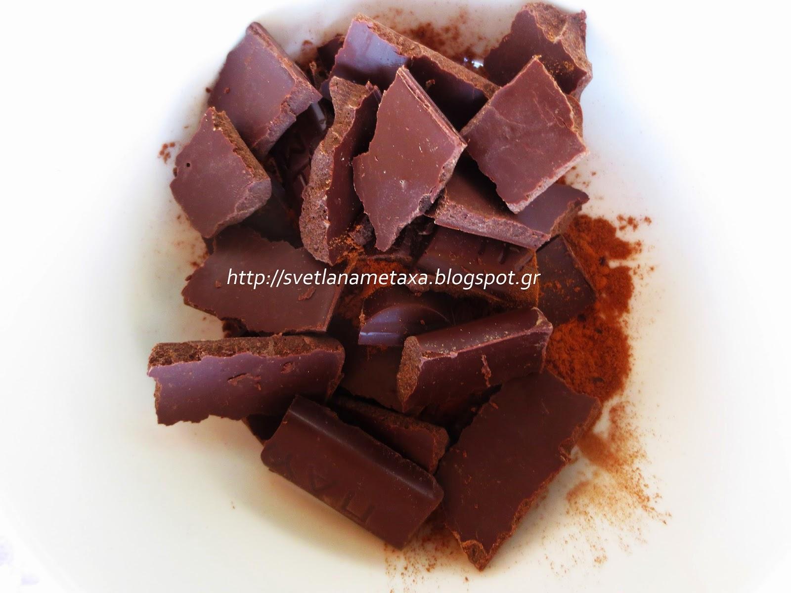 Готовим шоколад своими руками